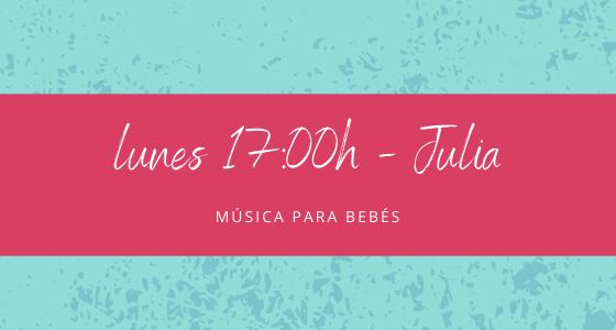 Protegido: 23 de noviembre (17:00h) Julia – Música para bebés