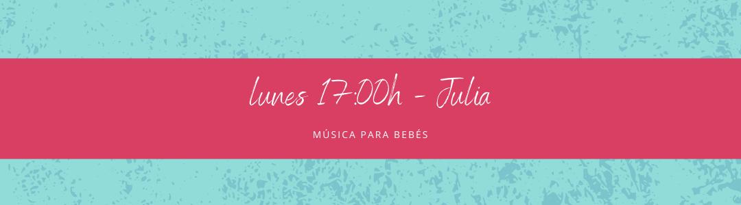 Protegido: 9 de noviembre (17:00h) Julia – Música para bebés