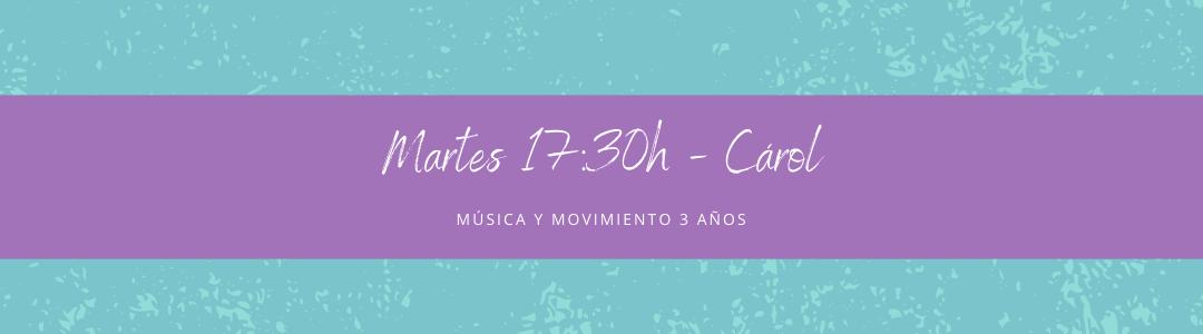 Protegido: 27 de abril (17:30h) Carol- Música y movimiento: 3 años