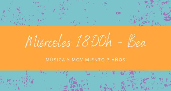 Protegido: 24 de febrero (18:00h) Bea – Música y movimiento: 3 años