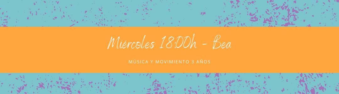 Protegido: 18 de noviembre  (18:00h) Bea – Música y movimiento: 3 años