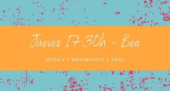 Protegido: 25 de febrero  (17:30h) Bea – Música y movimiento: 3 años