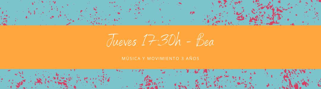 Protegido: 26 de noviembre (17:30h) Bea – Música y movimiento: 3 años