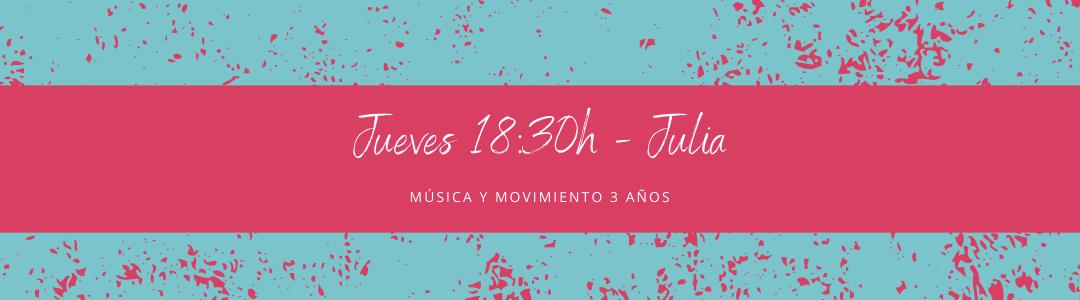 Protegido: 25 de febrero (18:30h) Julia – Música y movimiento: 3 años