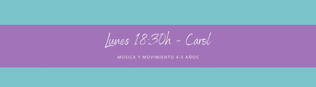 Protegido: 15 de febrero (18:30h) Carol- Música y movimiento: 4-5 años