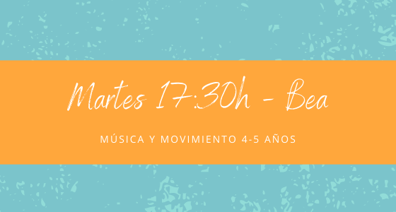 Protegido: 19 de enero (17:30h) Bea – Música y movimiento: 4-5 años
