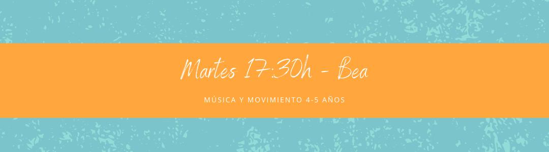 Protegido: 16 de febrero (17:30h) Bea – Música y movimiento: 4-5 años