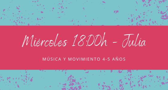 Protegido: 25 de noviembre (18:00h) Julia- Música y movimiento: 4-5 años