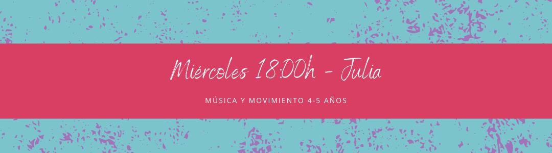 Protegido: 2 de diciembre (18:00h) Julia- Música y movimiento: 4-5 años
