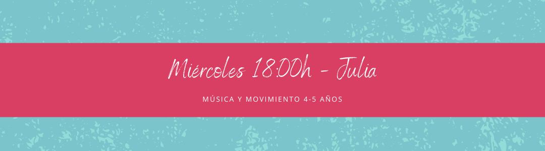 Protegido: 13 de enero (18:00h) Julia – Música y movimiento 4-5 años