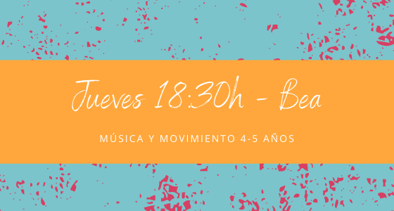 Protegido: 13 de mayo (18:30h) Bea – Música y movimiento: 4-5 años