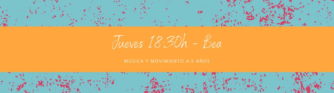 Protegido: 18 de marzo (18:30h) Bea – Música y movimiento: 4-5 años