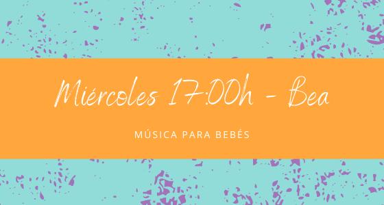 Protegido: 10 de marzo (17:00h) Bea – Música para bebés