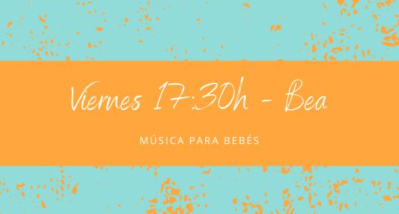 Protegido: 27 de noviembre (17:30h) Bea – Música para bebés