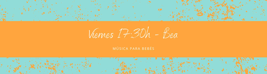 Protegido: 13 de noviembre (17:30h) Bea – Música para bebés