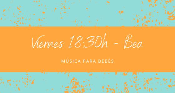 Protegido: 26 de febrero (18:30h) Bea – Música para bebés