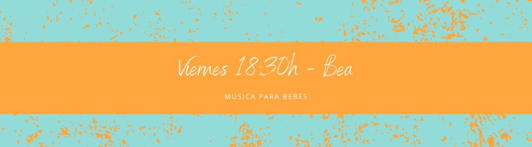 Protegido: 20 de noviembre (18:30h) Bea – Música para bebés