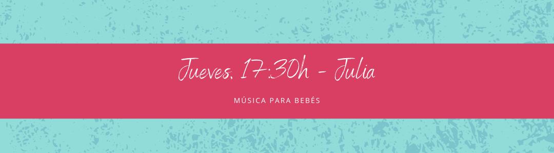 Protegido: 11 de febrero (17:30h) Julia – Música para bebés