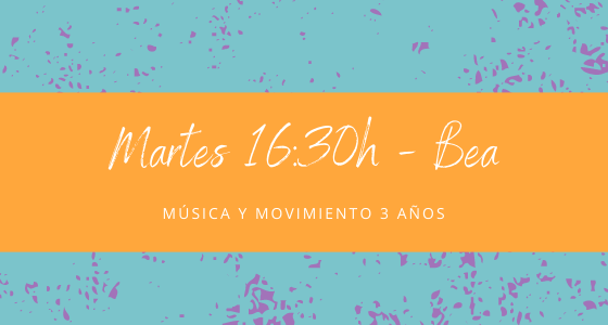 Protegido: 23 de febrero (16:30h) Bea – Música y movimiento: 3 años