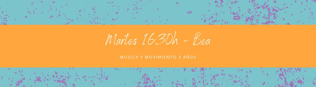 Protegido: 27 de octubre (16:30h) Bea – Música y movimiento: 3 años
